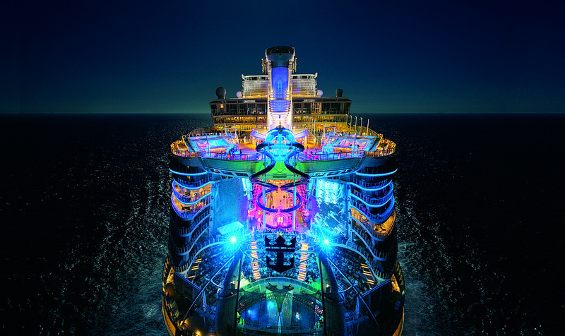 Light up the night on Royal Caribbean