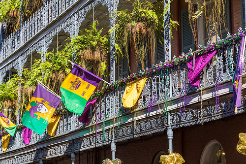 New Orleans is THE Mardi Gras  party city