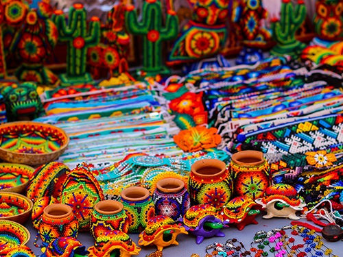 Colorful souvenirs from Riviera Nayarit