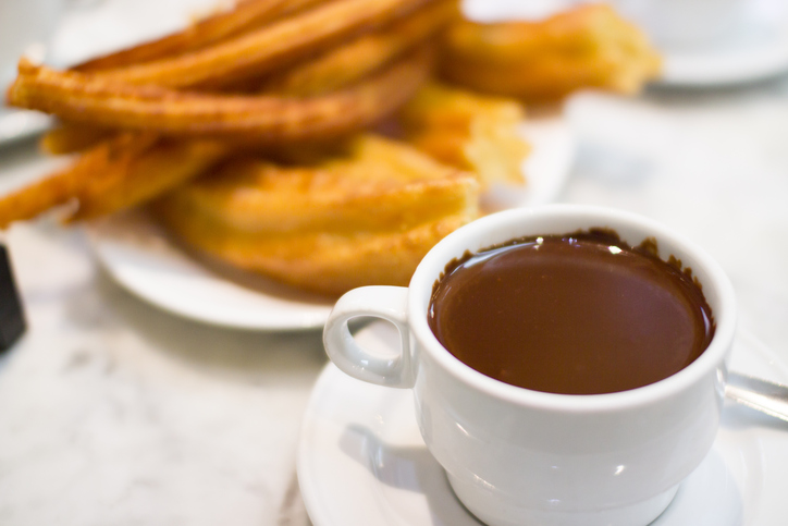 Churros and Chocolate Madrid