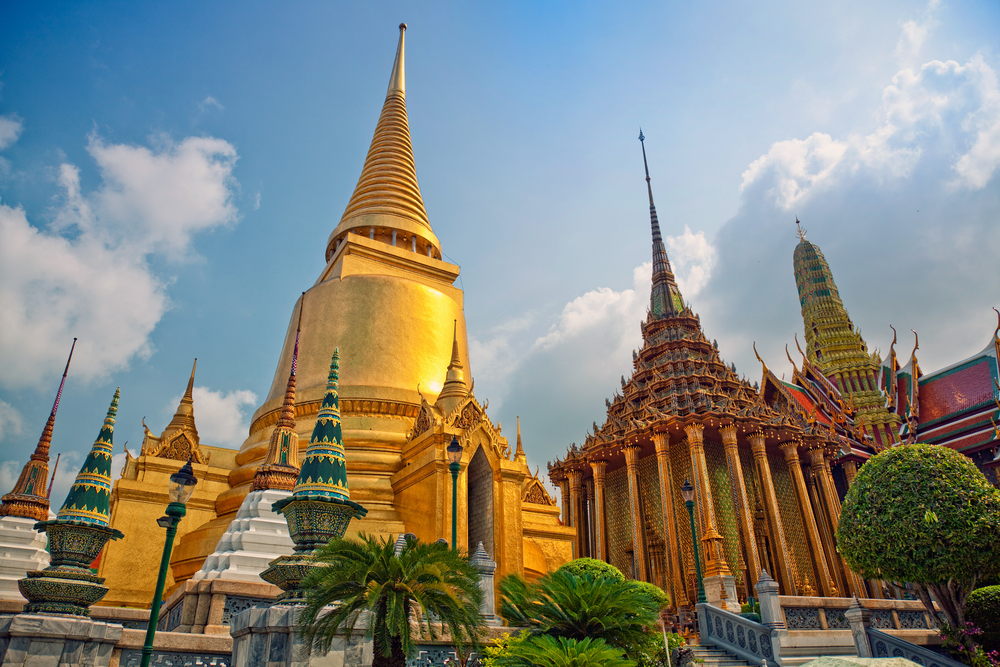 Wat Pho, or the Temple of the Reclining Buddha
