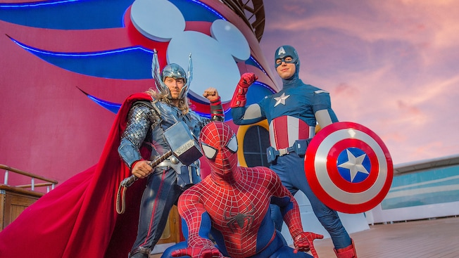 Calling all superheroes! Join Disney for a Marvel Day at Sea!