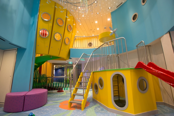 The kids club on RCCL's Quantum of the Seas