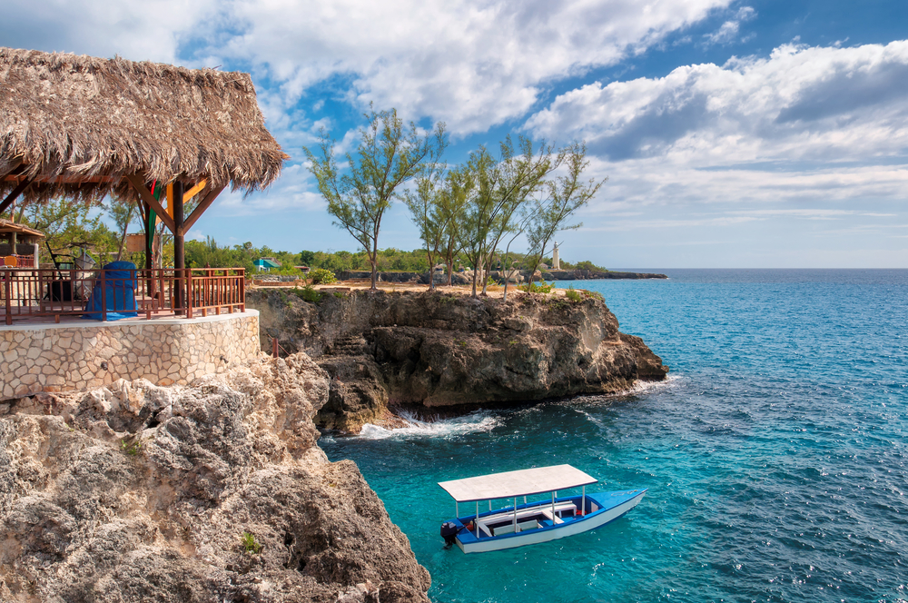 Family vacations with her children often mean trips to all-inclusive destinations, like Negril (Jamaica).
