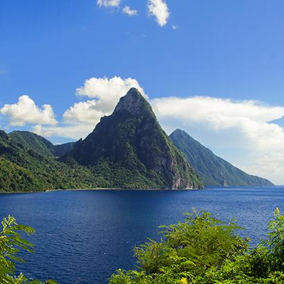 Two Pitons, Saint Lucia