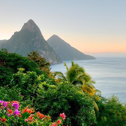 Gros Pitons in Saint Lucia