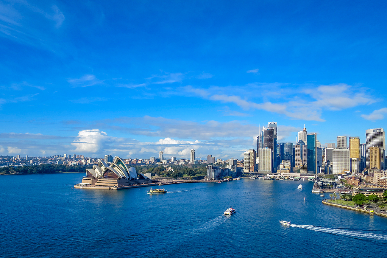 View of Sydney Opera House Australia Vacation package