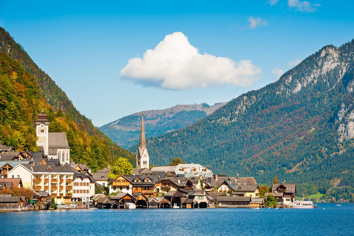 View of Hallstatt with Austria vacation packages