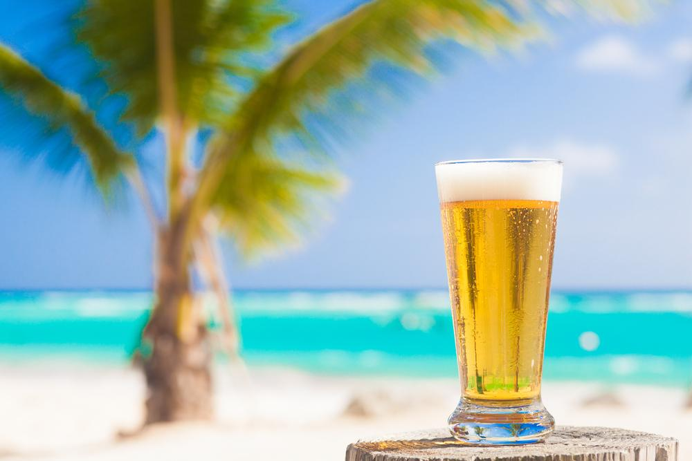It's Beer O'clock in Paradise