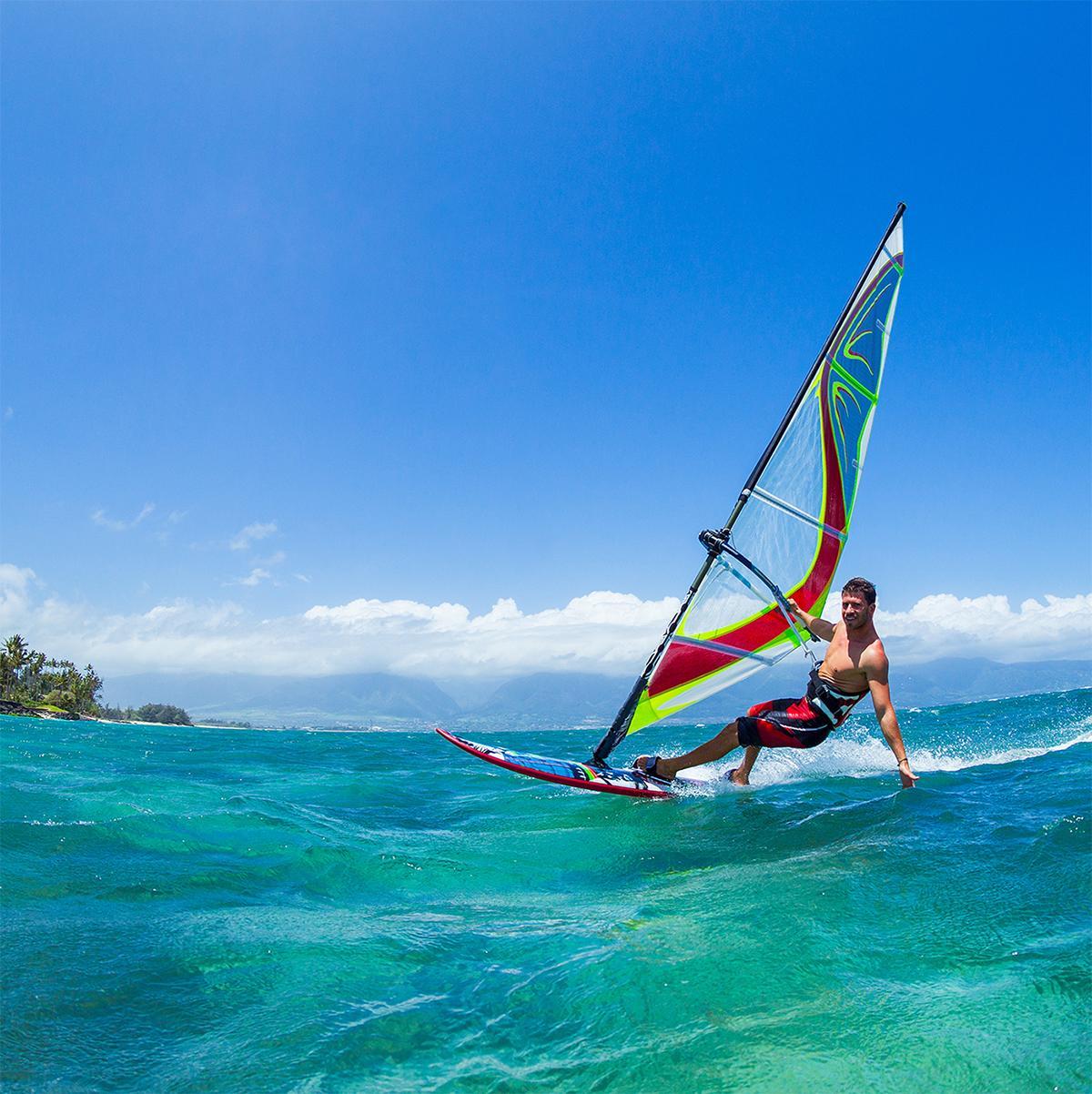 Windsurfing in Bonaire