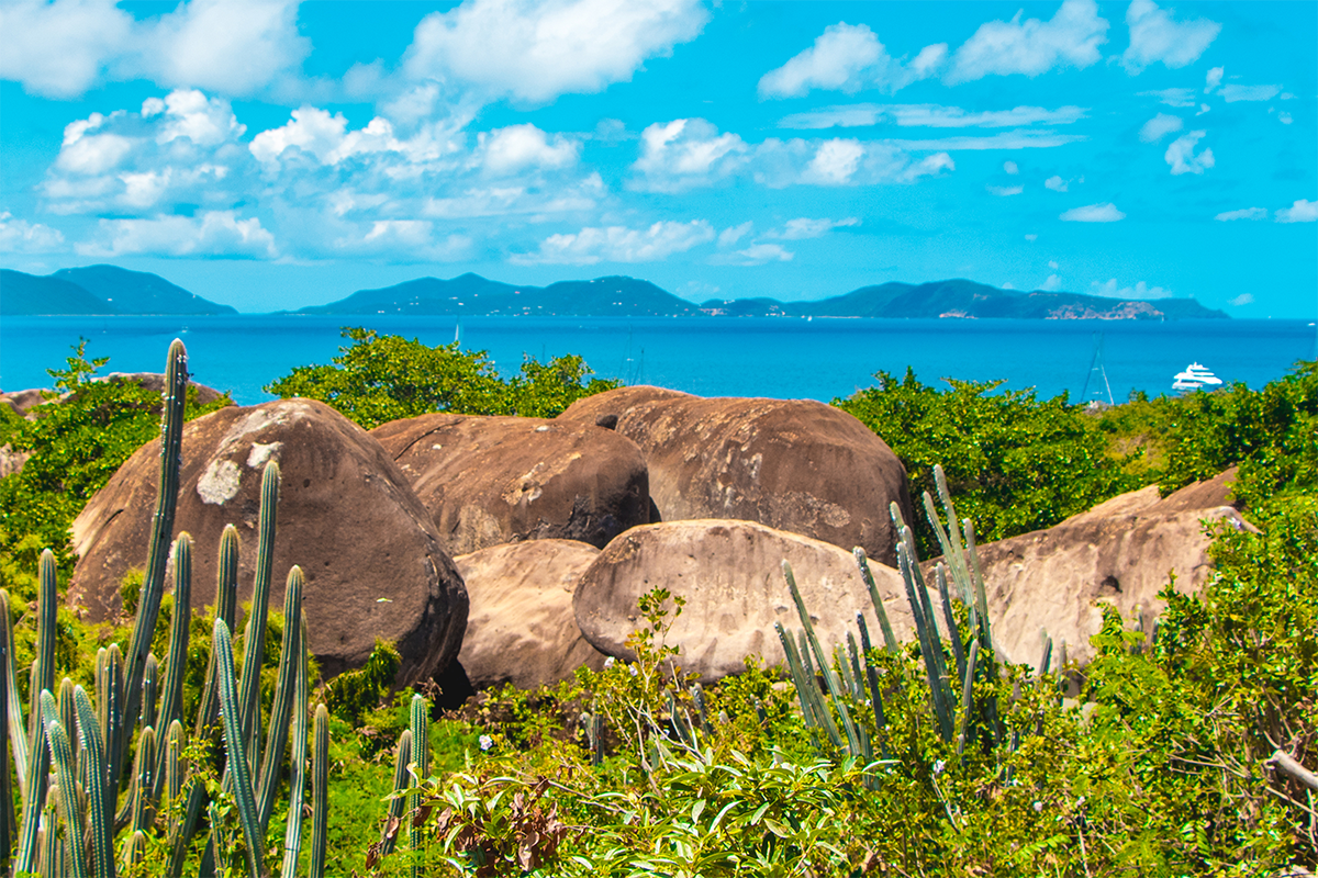 Ocean view British Virgin Islands vacation package