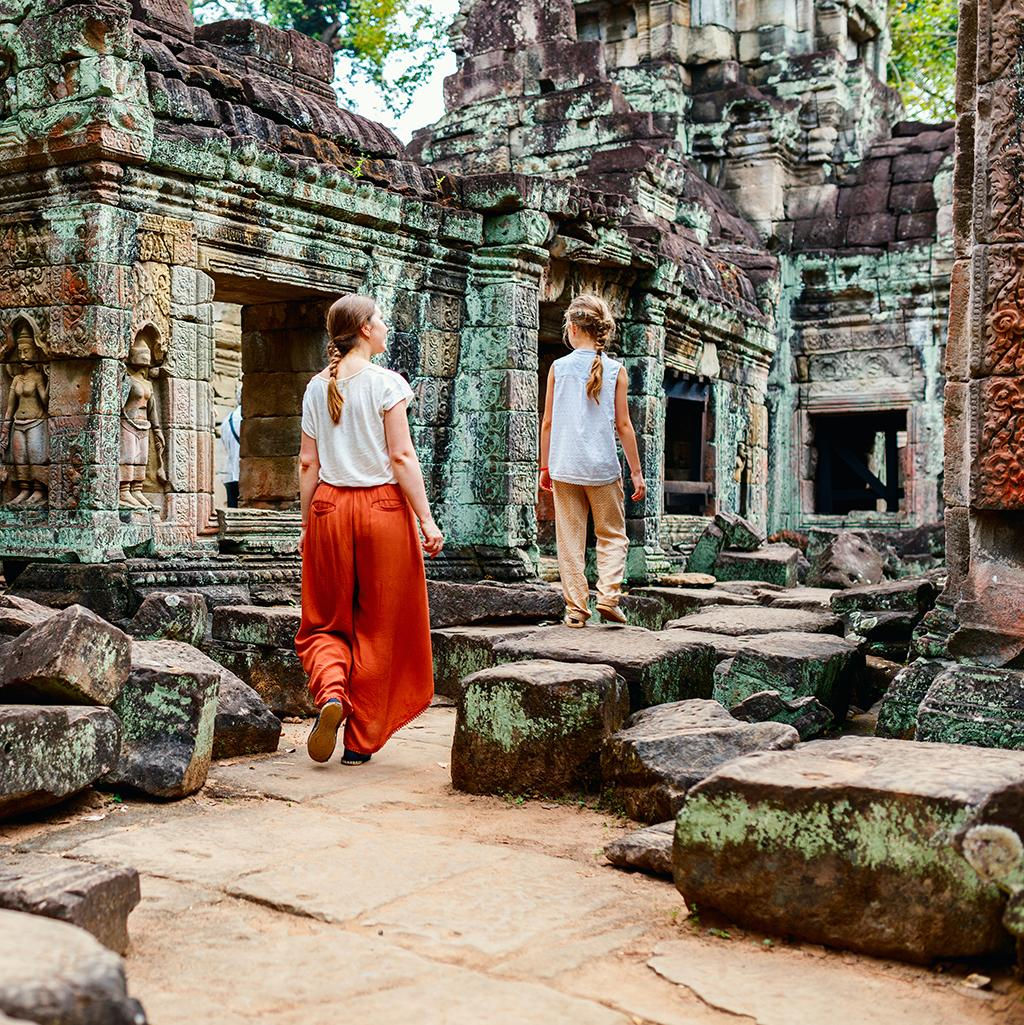 Ruins of the Ancient Preah Khan Temple
