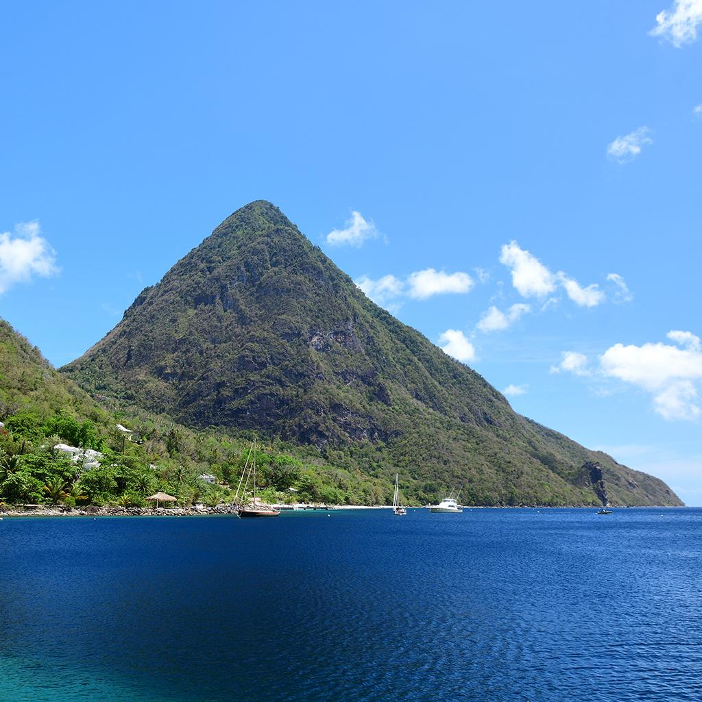 Visit St. Lucia's Pitons from Castries