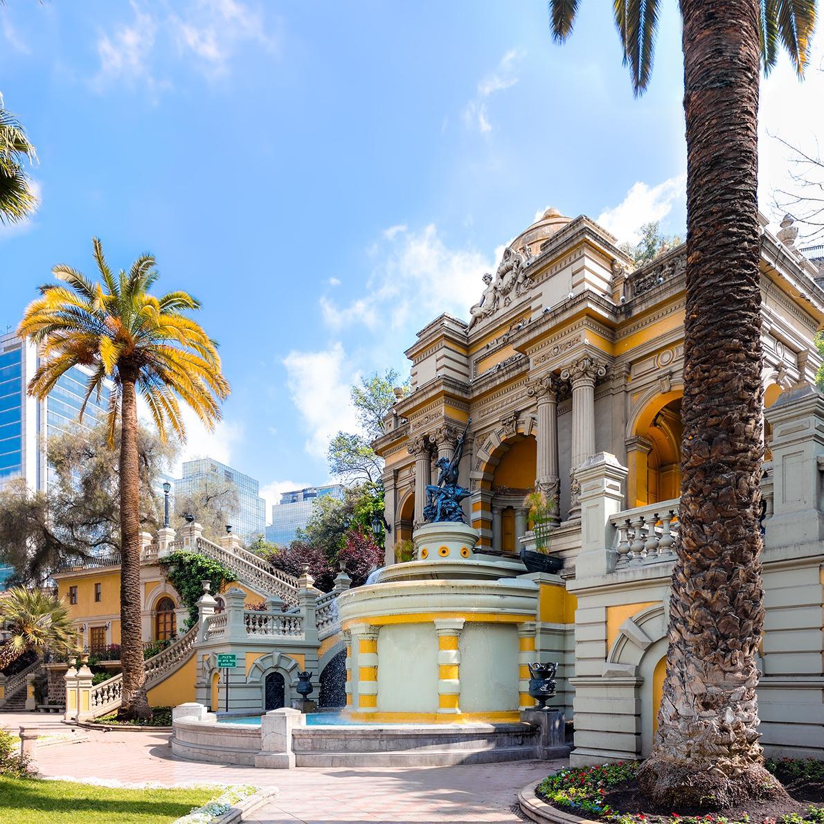 Tour beautiful Chilean architecture with Santiago tours