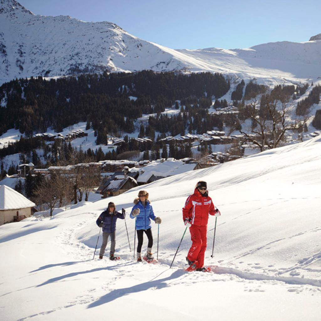 Family enjoying a ski vacation at Club Med