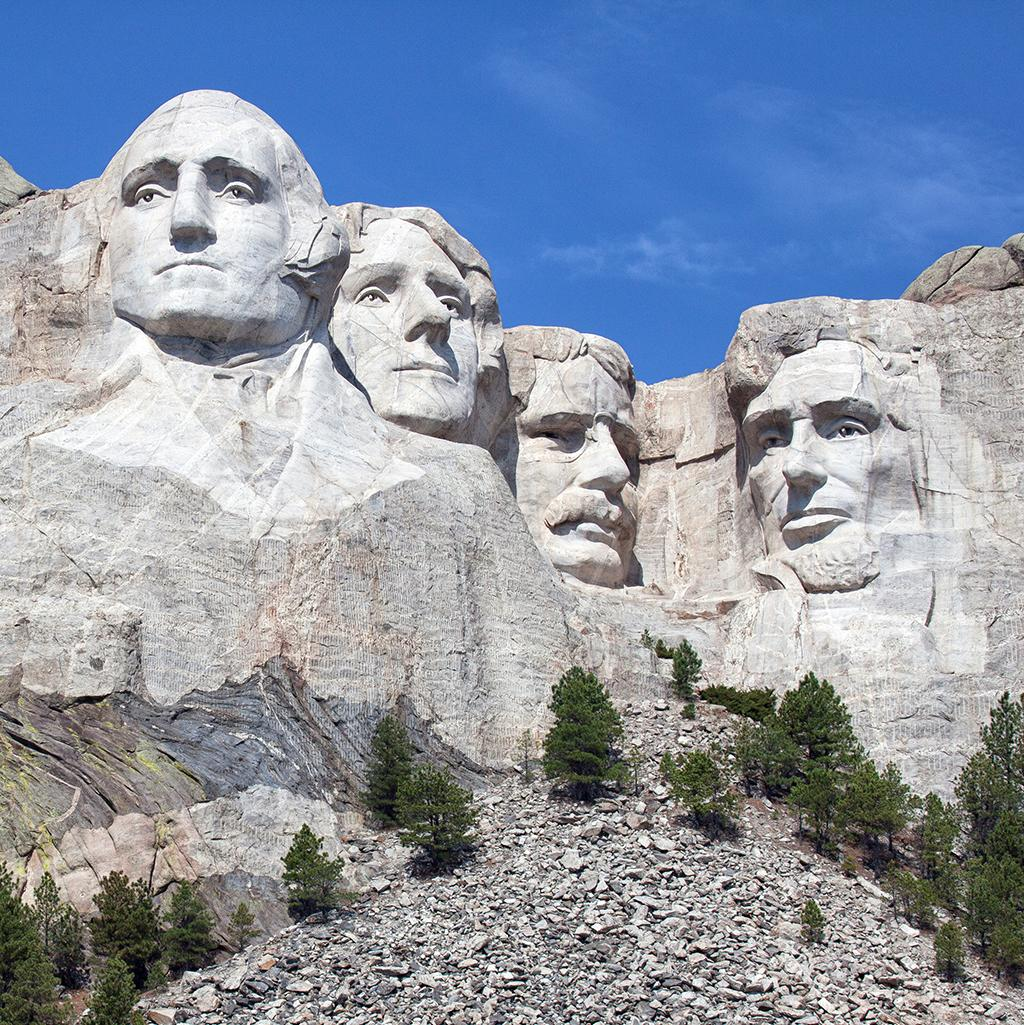 Views of Mount Rushmore with Collette Vacations Tours
