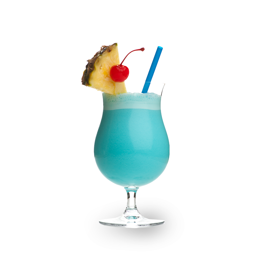 Enjoy blue curacao drinks with Curacao vacation packages
