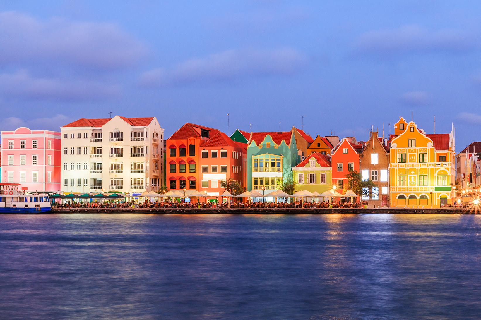 Experience Willemstad Harbour with Curacao vacation packages