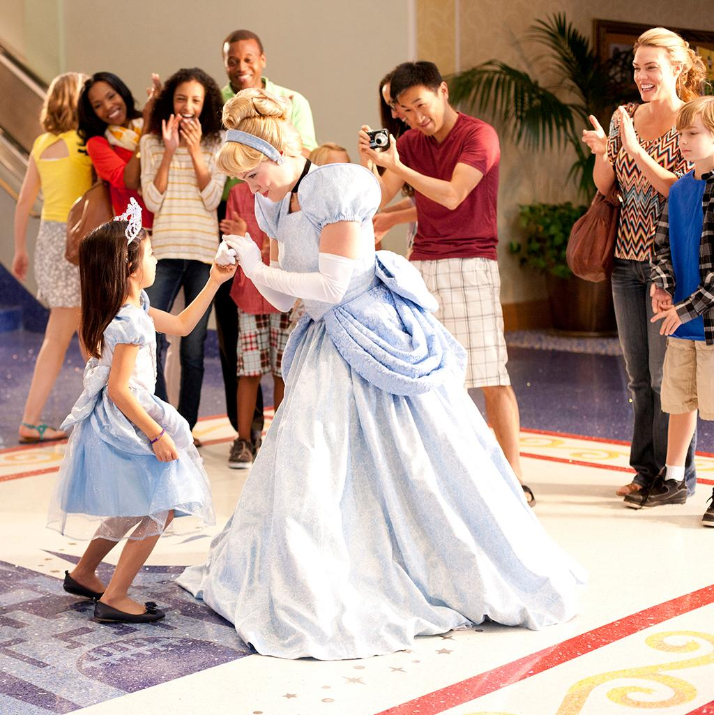 Meet all of Disney's characters when you stay at Disneyland resorts