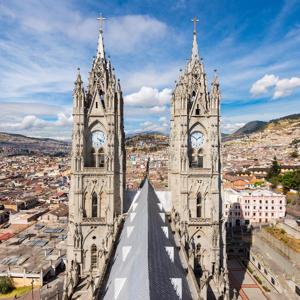 Tour cathedrals and architecture in Ecuador's capital Quito