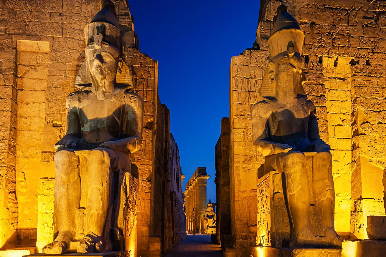Exploring ancient ruins with Egypt vacation packages