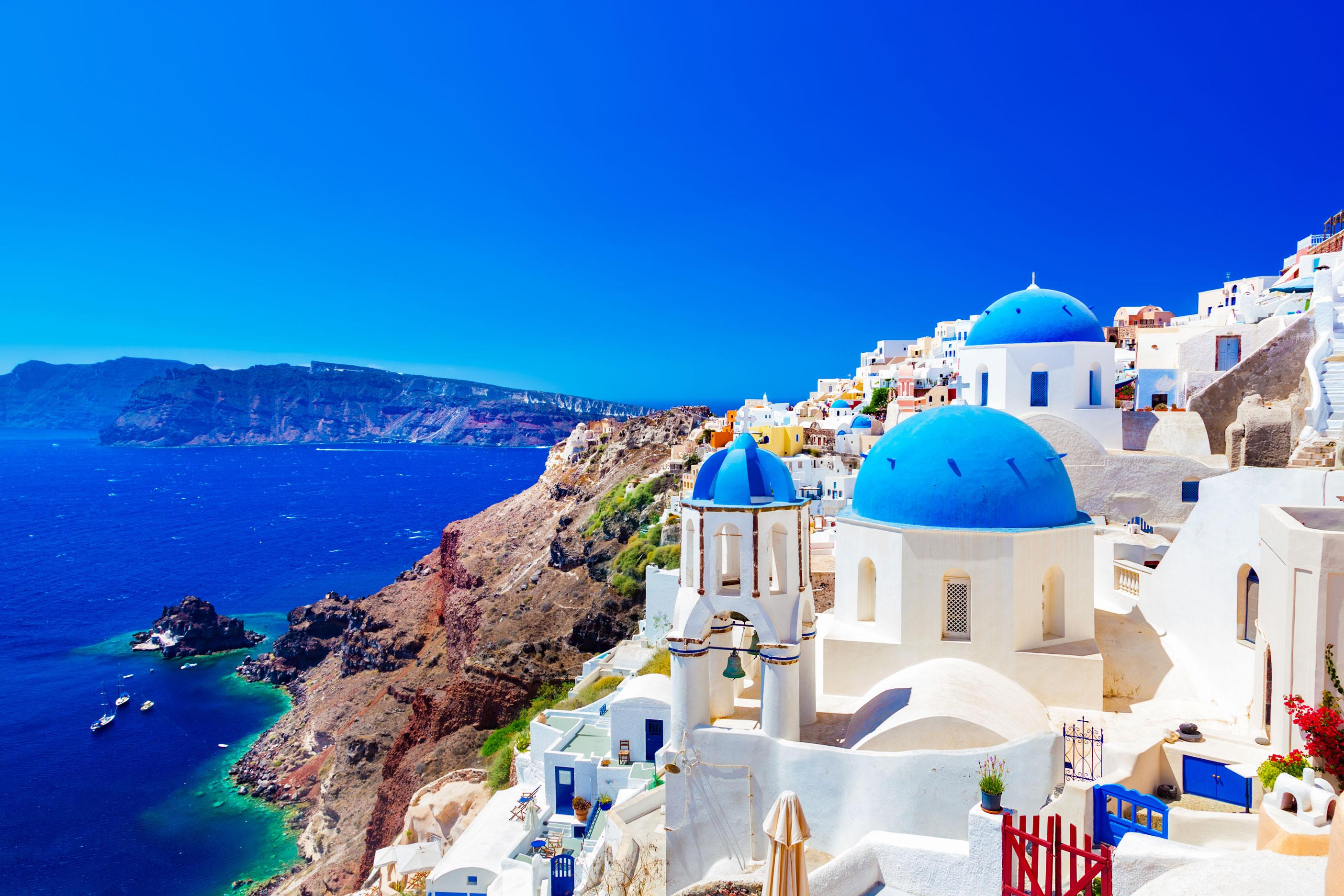 Santorini Greece vacation package Liberty Travel