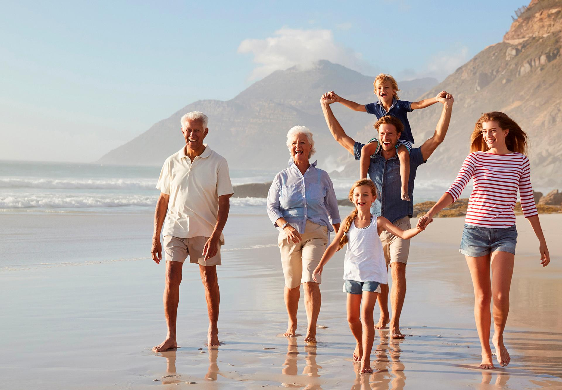 Make memories at the beach with the whole family