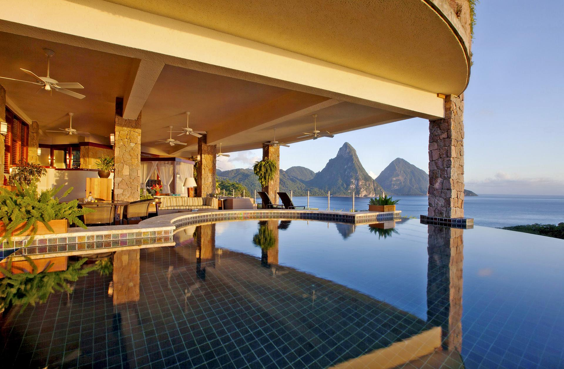 View from Jade Mountain, St. Lucia
