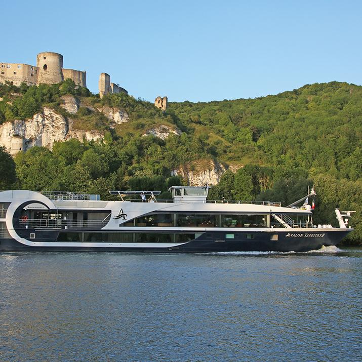 Enjoy the view from an Avalon cruise