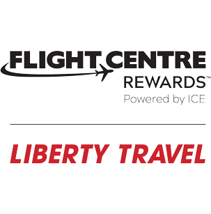 Flight Centre Rewards and Liberty Travel logo