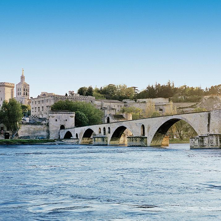 Scenic views on a Viking river cruise