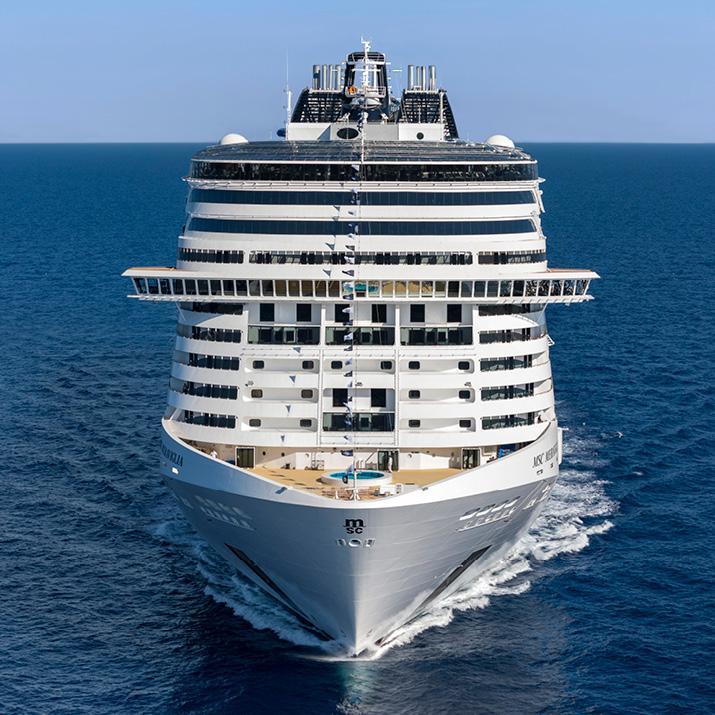MSC Cruise ship