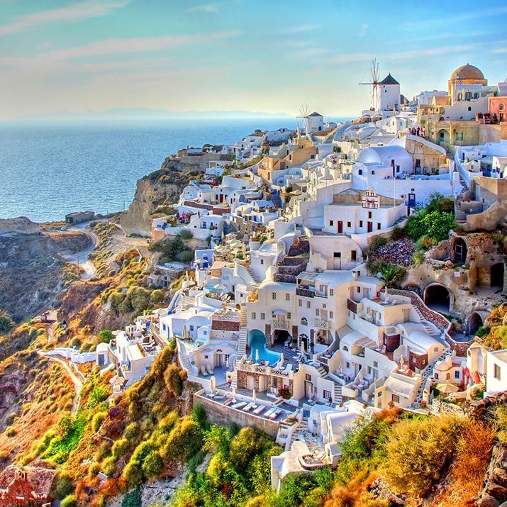 Grecian hillside