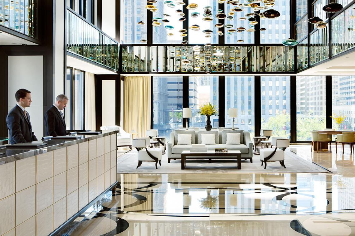Chic spaces and luxury services at the Langham Hotels & Resorts