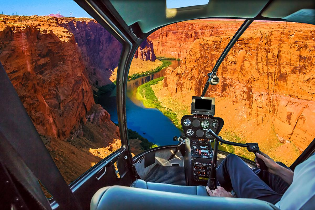 Explore the Grand Canyon by helicopter with Las Vegas tours