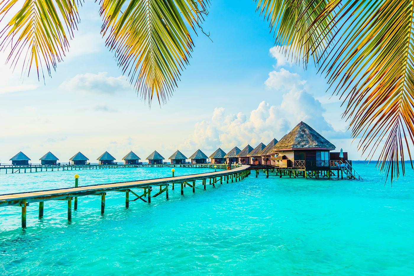 Experience over water bungalows with Maldives vacation packages
