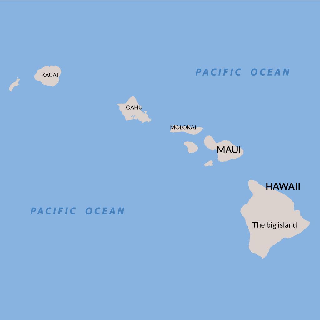 Maui vacations map