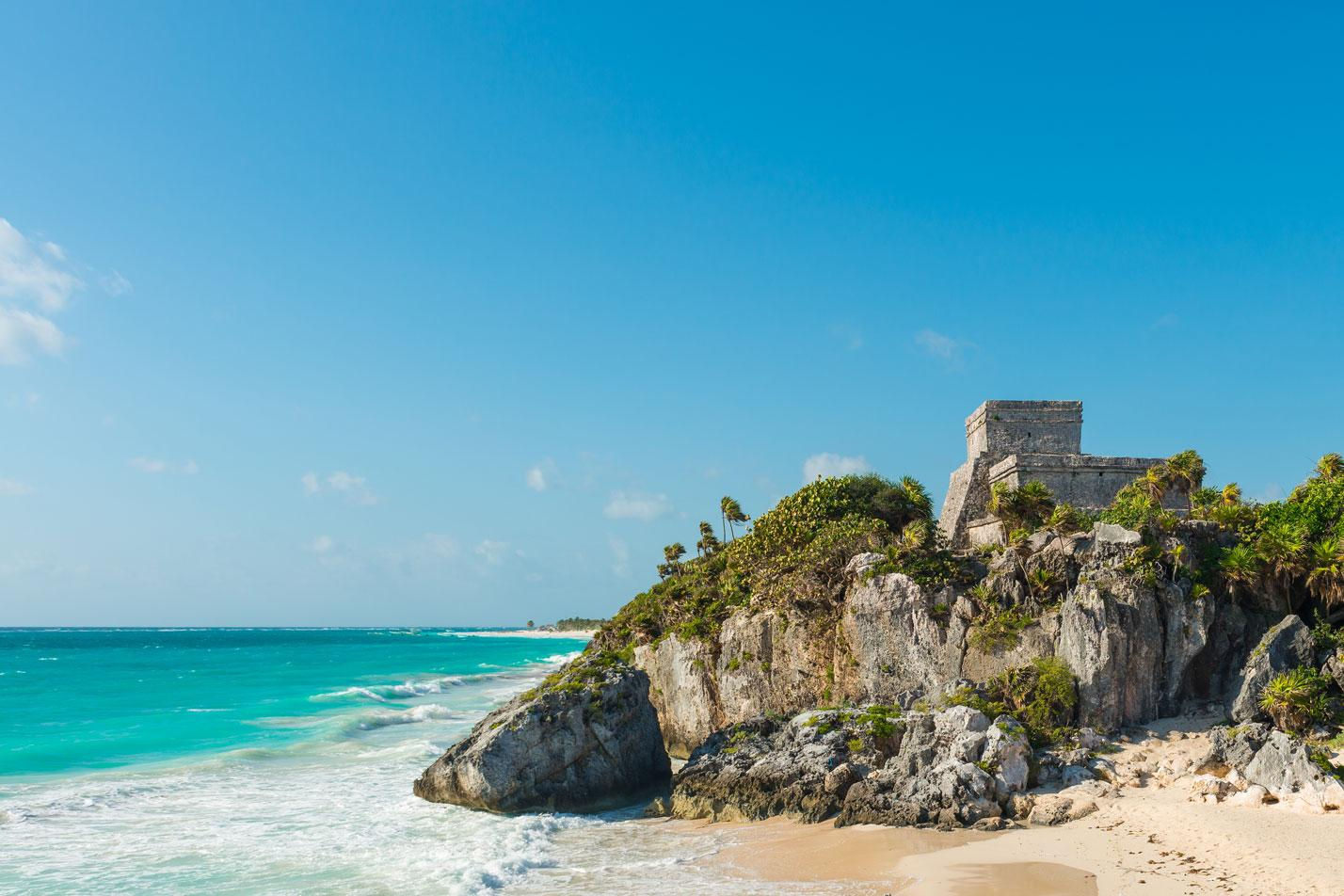 Beach in Tulum, Mexico