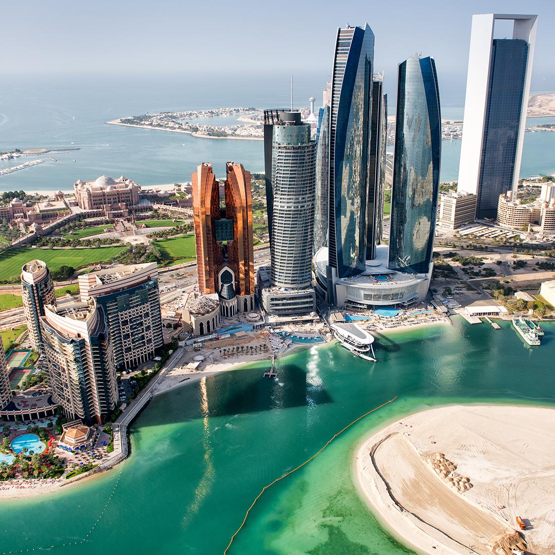 View Dubai's skyscrapers with Middle East vacation packages