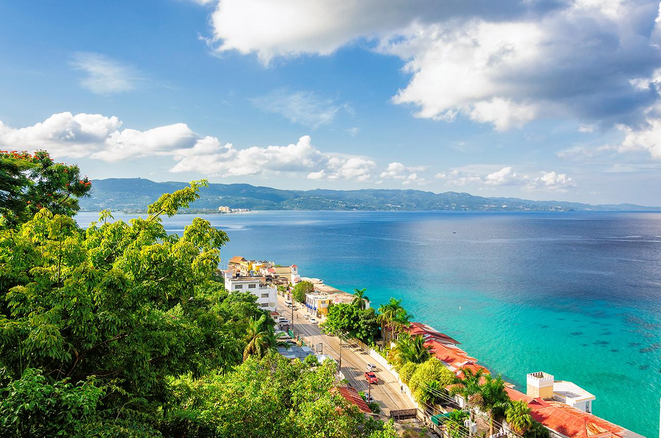 Stunning ocean views from Montego Bay