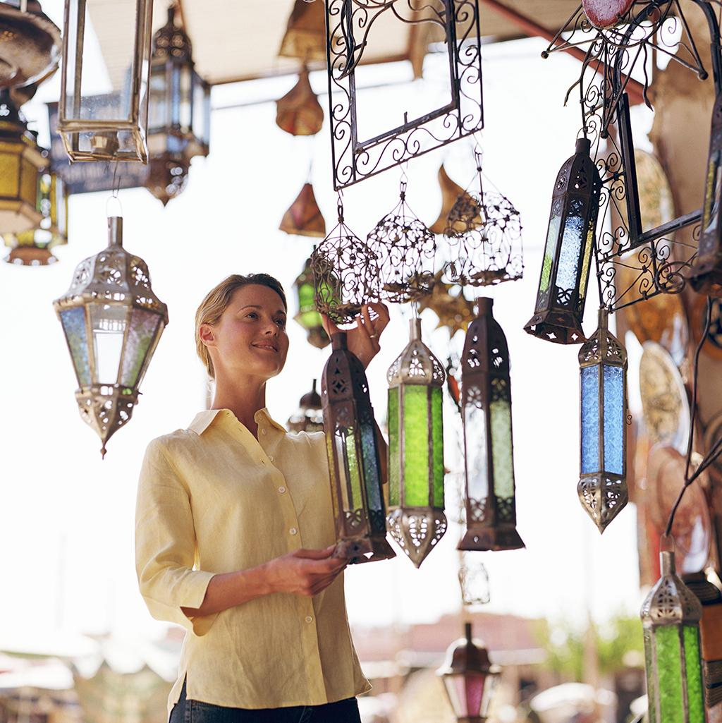 Local shops of Morocco