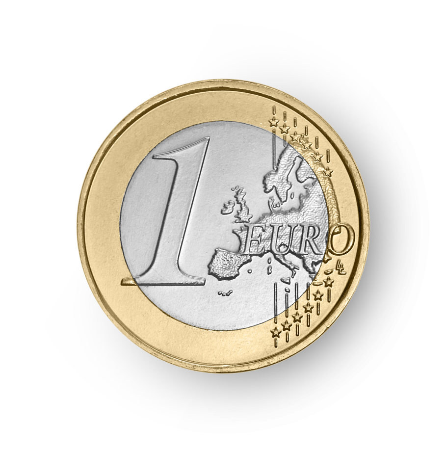 1 euro, the official currency in Munich