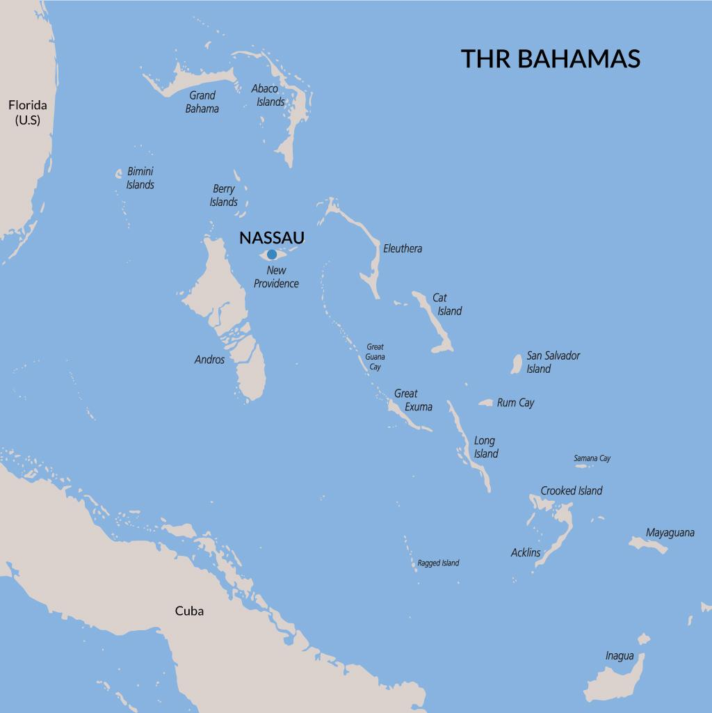 Nassau vacations map