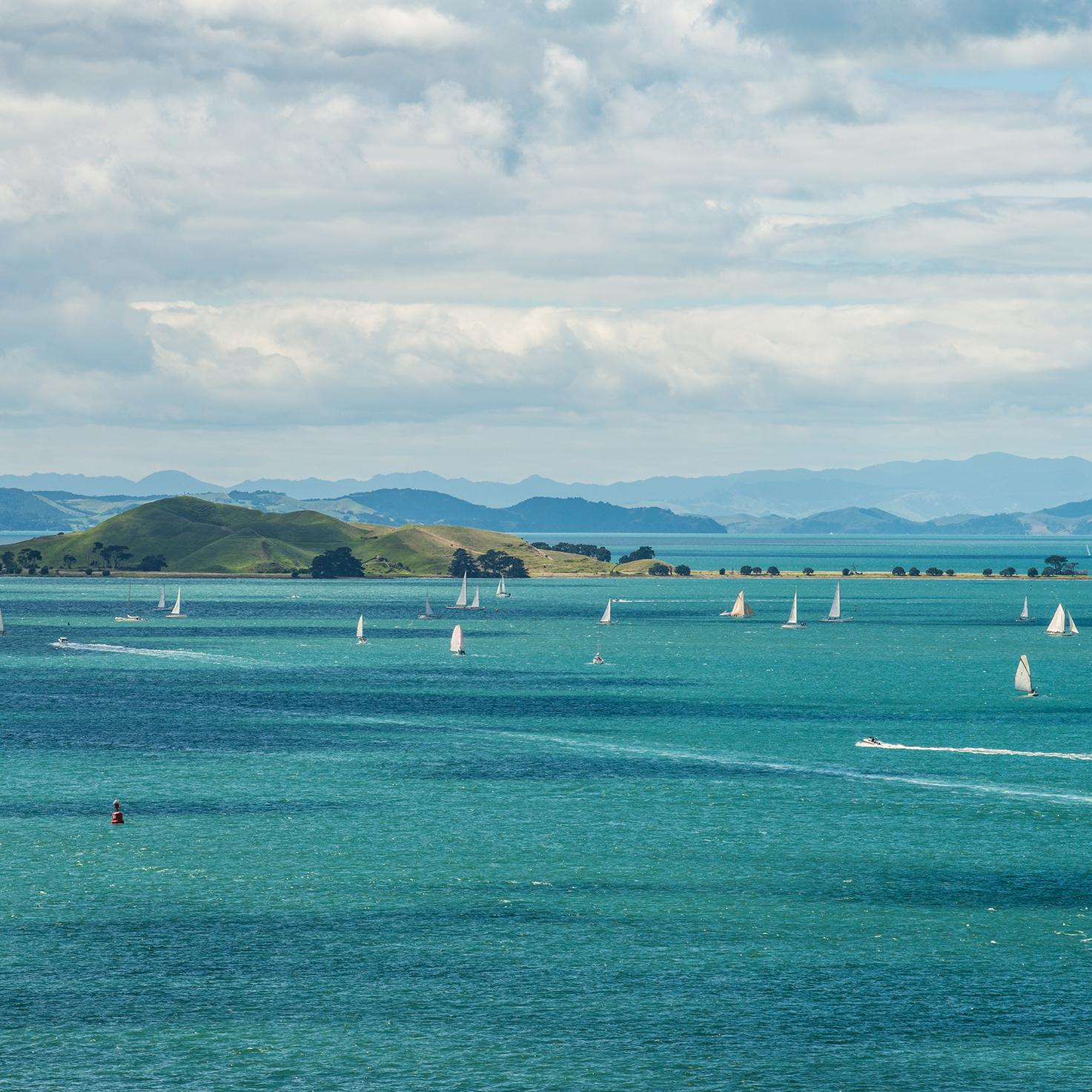 Sail in Auckland's famous Hauraki Gulf with New Zealand vacation packages