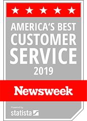 America's Best Customer Service 2019 from Newsweek