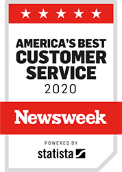 America's Best Customer Service 2020 from Newsweek