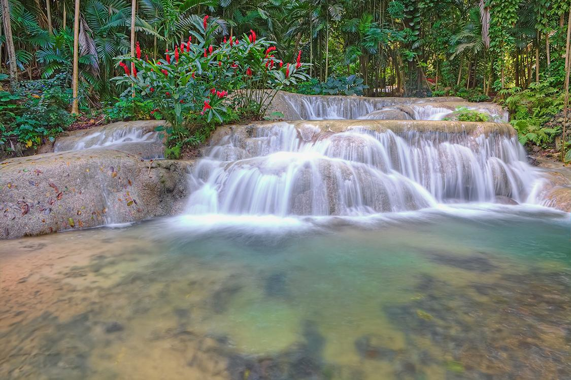 Waterfalls in Ochos Rios