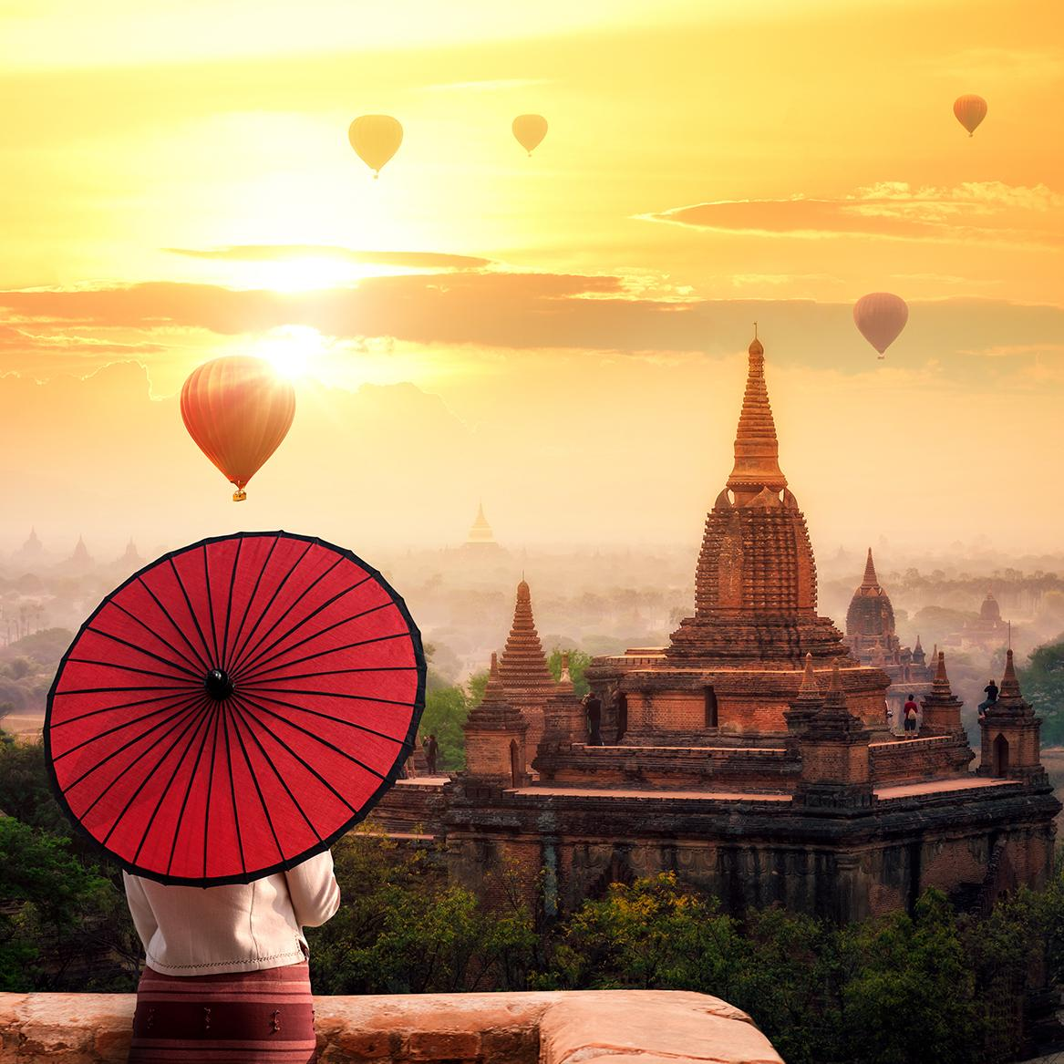 Soak in all that is Myanmar on a Peregrine Tour
