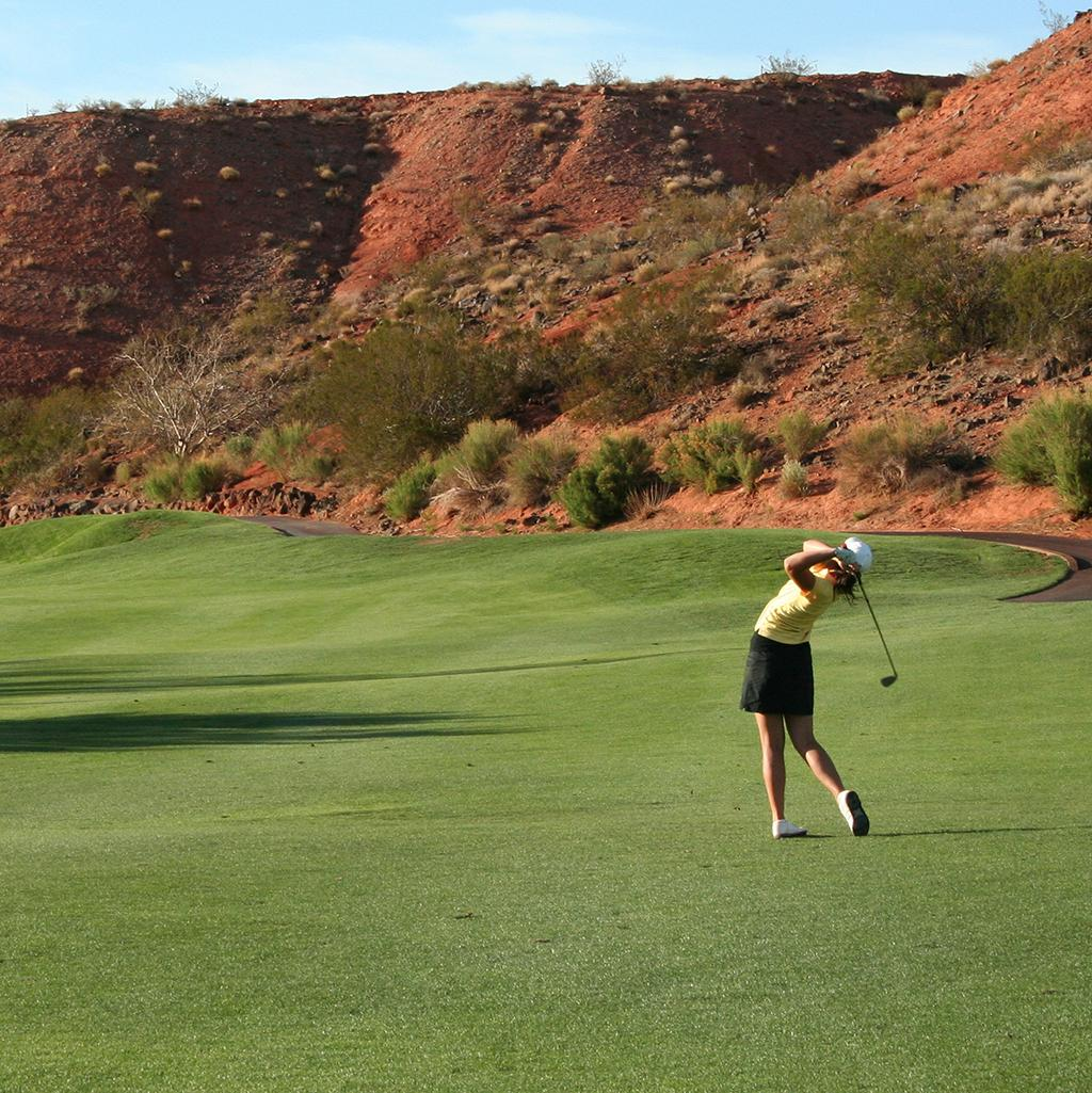 Golfing in Phoenix Arizona
