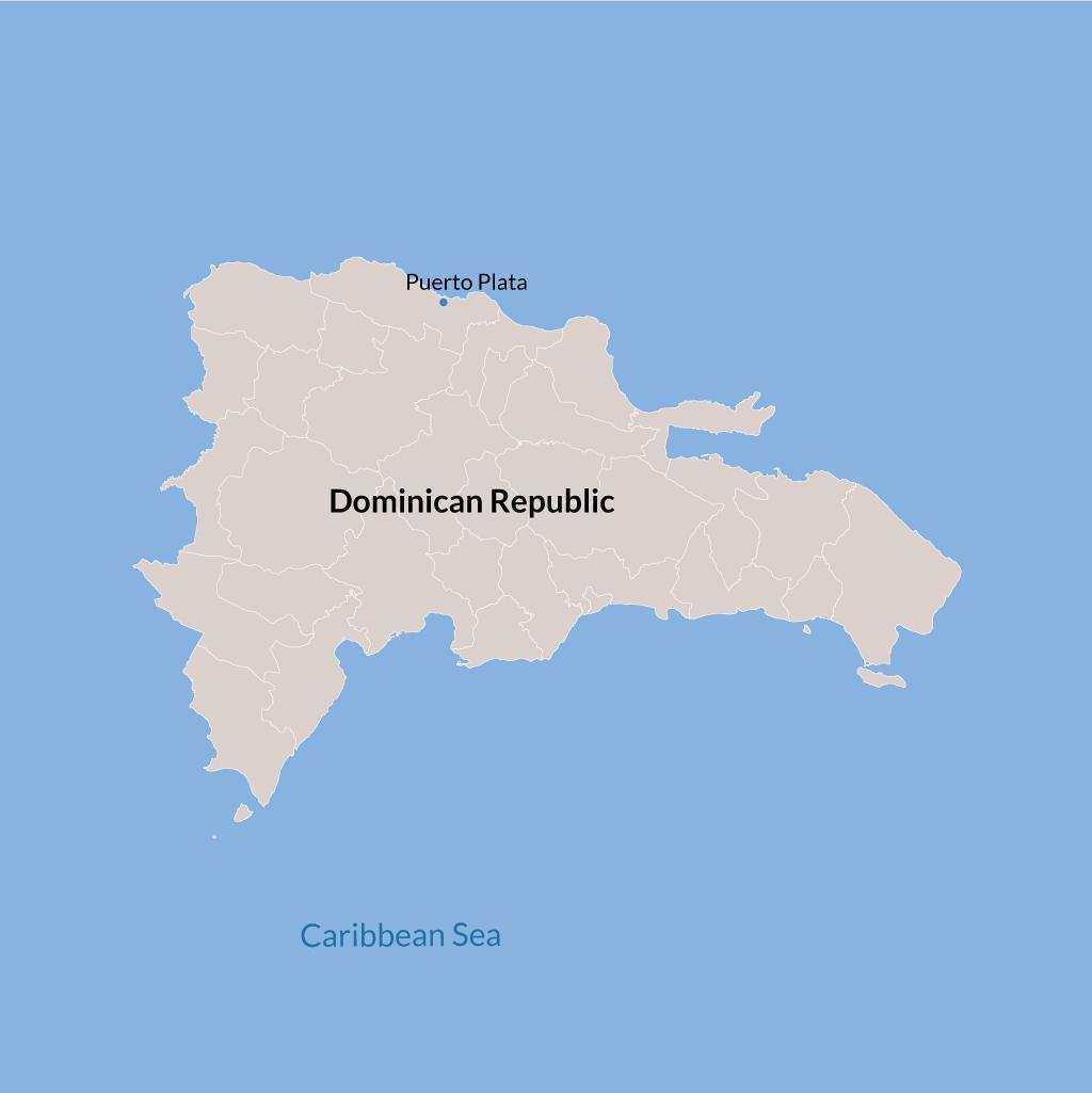 Puerto Plata vacations map